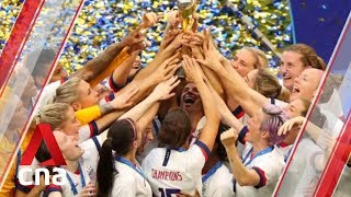 Women's World Cup: US celebrates win over Netherlands