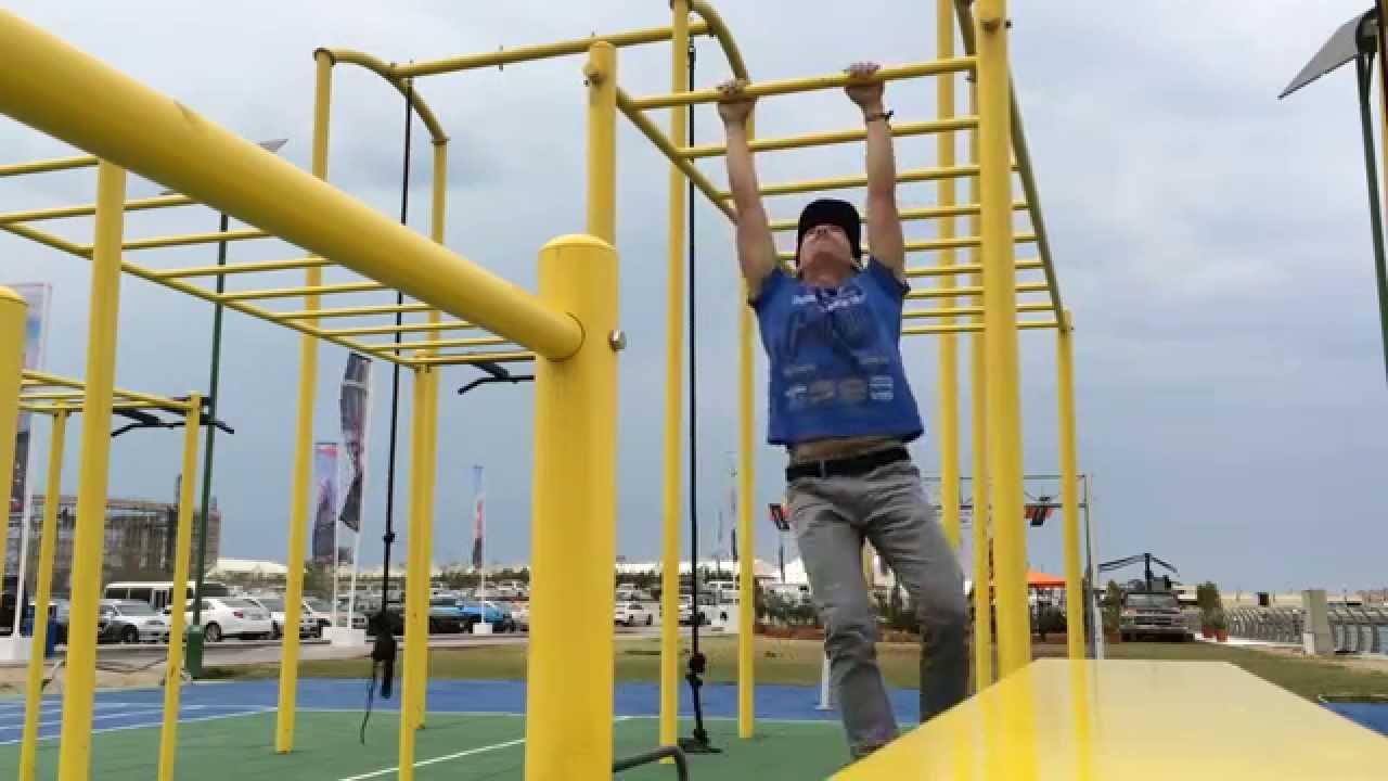 Sky Dive Dubai Outdoor Gym Park