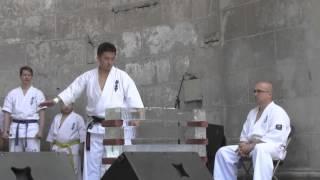 Kyokushin Karate NY demo at Japan Day 2013 (2/2)