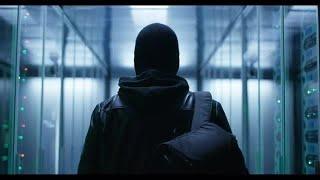 Masked Hacker Stock Video