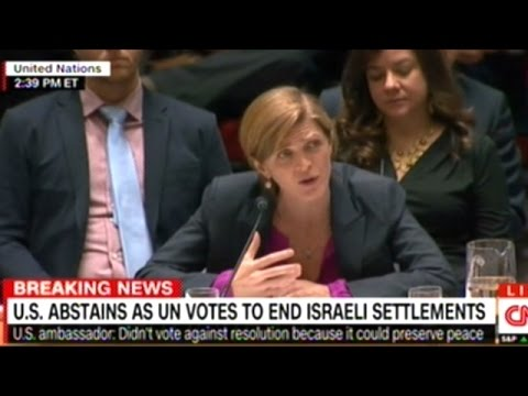 United Nations Passes Resolution To End Illegal Israeli Settlements!
