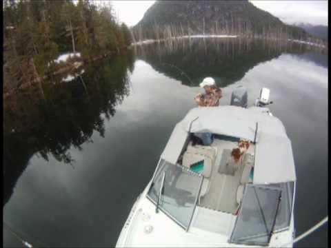 Vancouver Island BC Lake Fishing