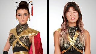 """Asian Americans Try """"Asian"""" Halloween Costumes"""
