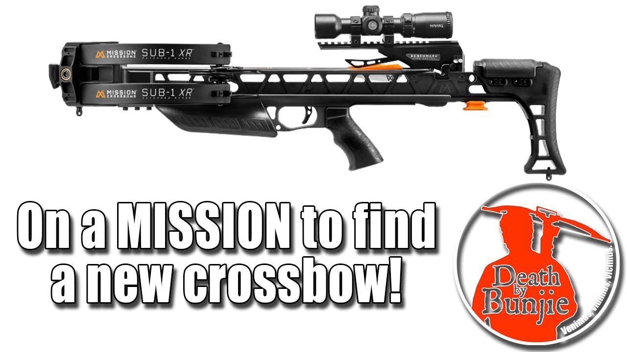 Let's Look at...MISSION Crossbows!