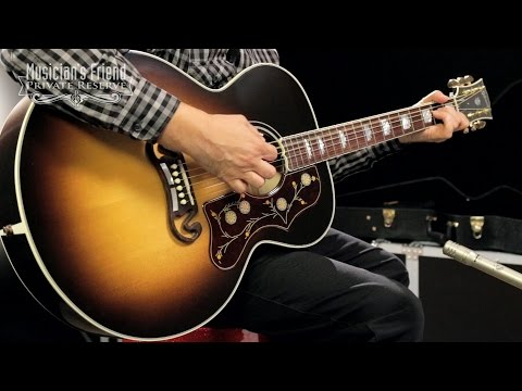 Gibson 2016 SJ200 Standard Super Jumbo AcousticElectric Guitar, Vintage Sunburst