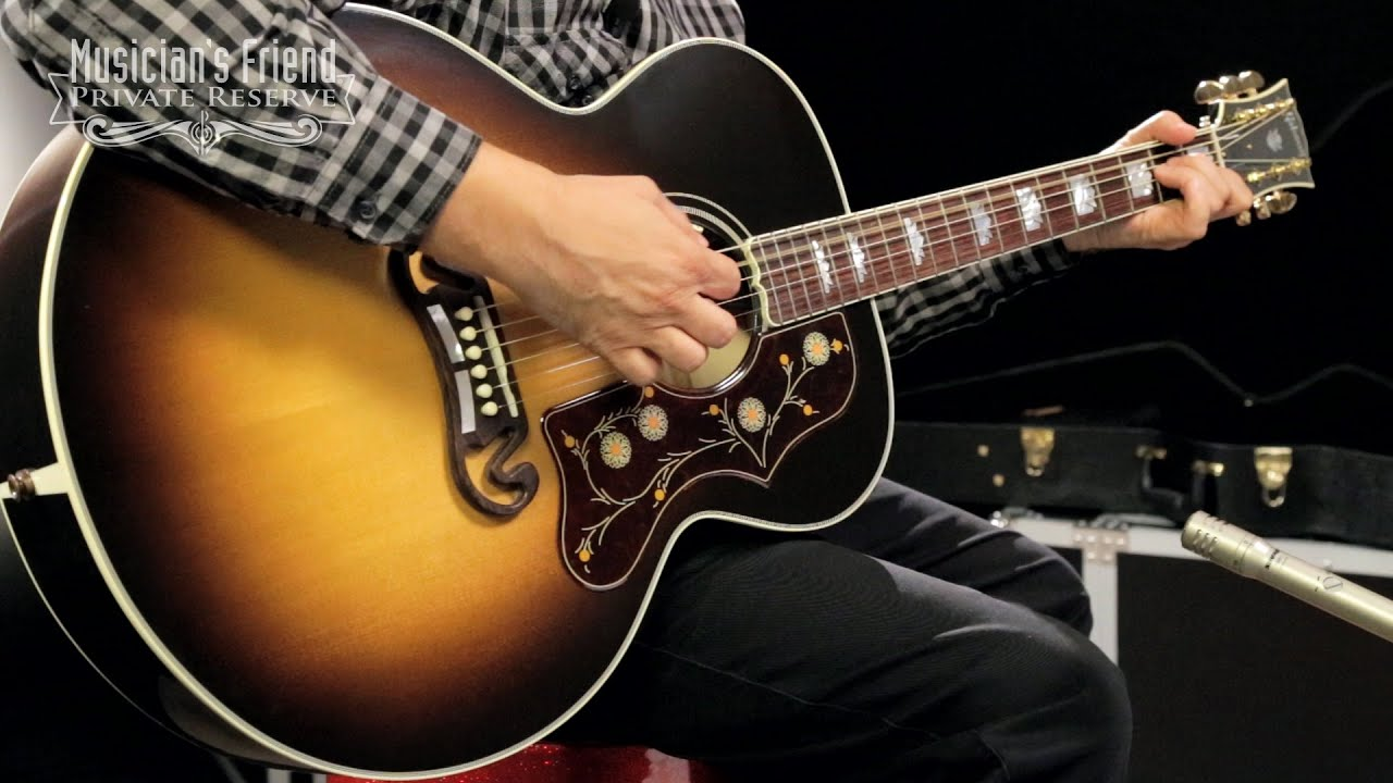 Gibson 2016 SJ 200 Standard Super Jumbo Acoustic Electric