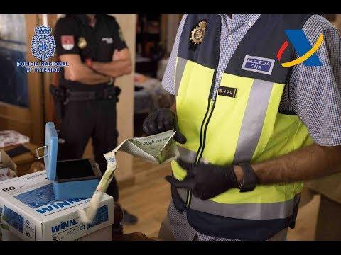 Diecinueve detenidos por una trama de blanqueo de capitales liderada por un empresario de Mula