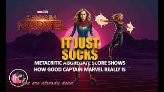 Captain marvel metacritic