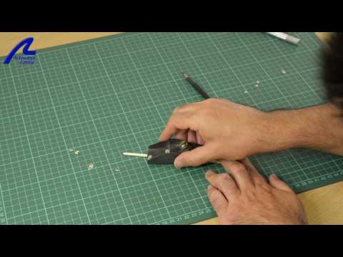 Build The Swift 1805 - Forming Mast Conical Shape