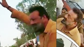 Sanjay Dutt Shooting For Bhoomi Movie In Agra