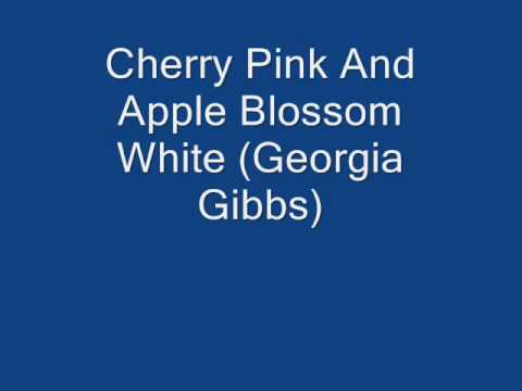 Cherry Pink And Apple Blossom White - Georgia Gibbs