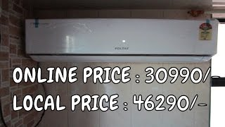 Flipkart Offer | Unboxing Voltas 185JY 1.5 Ton 5 Star AC