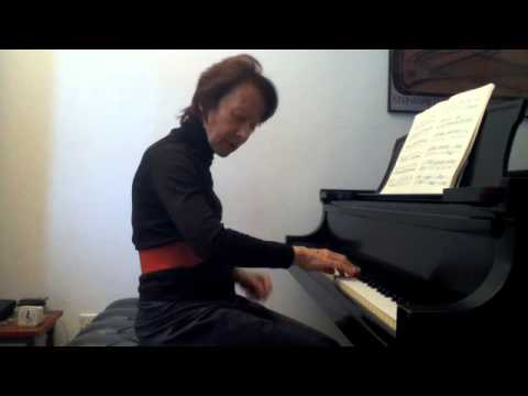 Edna Golandsky: Playing scales with the Taubman Approach and the process of minimising.