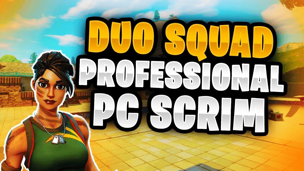 We Accidentally Queued Into A Pc Pro Scrim Lobby Duo Squad Scrim