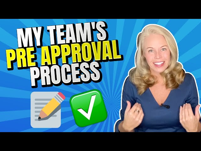 My Team's Pre-Approval Process For VA Loans, Refinancing, Conventional Mortgages and More 🏡