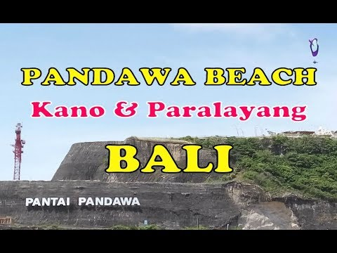 Paket Tour Wisata Pantai Pandawa Bali Beach - Main Paralayang dan Kano Murah