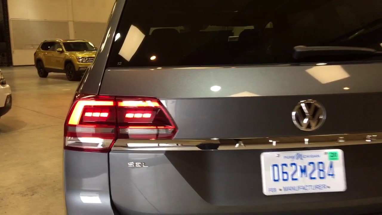 vw atlas led lights sel premium youtube