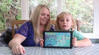 Kurio Smart Android Tablet Review: Our Family Life