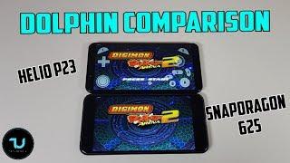 Helio P23 vs Snapdragon 625 Dolphin comparison/Gamecube Games/Vernee X vs Redmi 5 Plus