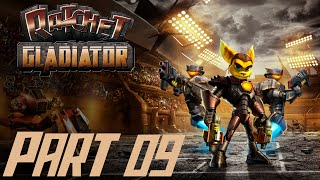 Let's Play Ratchet Gladiator #09 [Deutsch/BLIND/HD] Kampf gegen Ace Hardlight Video