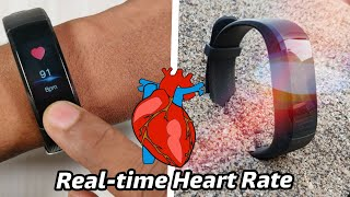 Best Waterproof Real Time Heart Rate Smart Bracelet Under 3000/-
