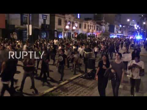Peru: Clashes mar Christmas Eve in Lima as Fujimori pardon sparks protests