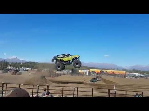 All Star Monster Truck Tour at the Alaska State Fair 2016