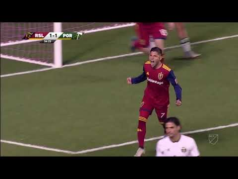 -Gol Vinotinto- //Jefferson Savarino // Real Salt Lake 1-4 Portland Timbers.