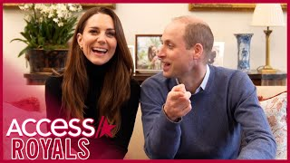 Kate Middleton & Prince William Are Playful In New Video