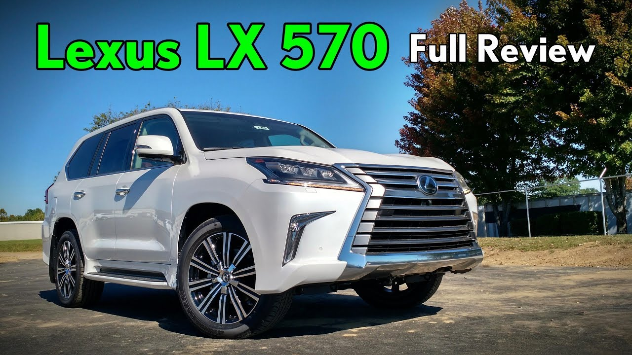Lexus Lx 570 >> 2018 Lexus LX 570: Full Review - YouTube