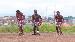 AFRO BEAT PAPA DER DANCE VIDEO BY YKD yewo krom dancers