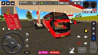 IDBS Bus Simulator Lampung - Cilegon New Update screenshot 1