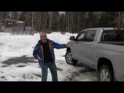 Toyota CA 2015   Used car Canada 2015   Cars Canada review in the snow