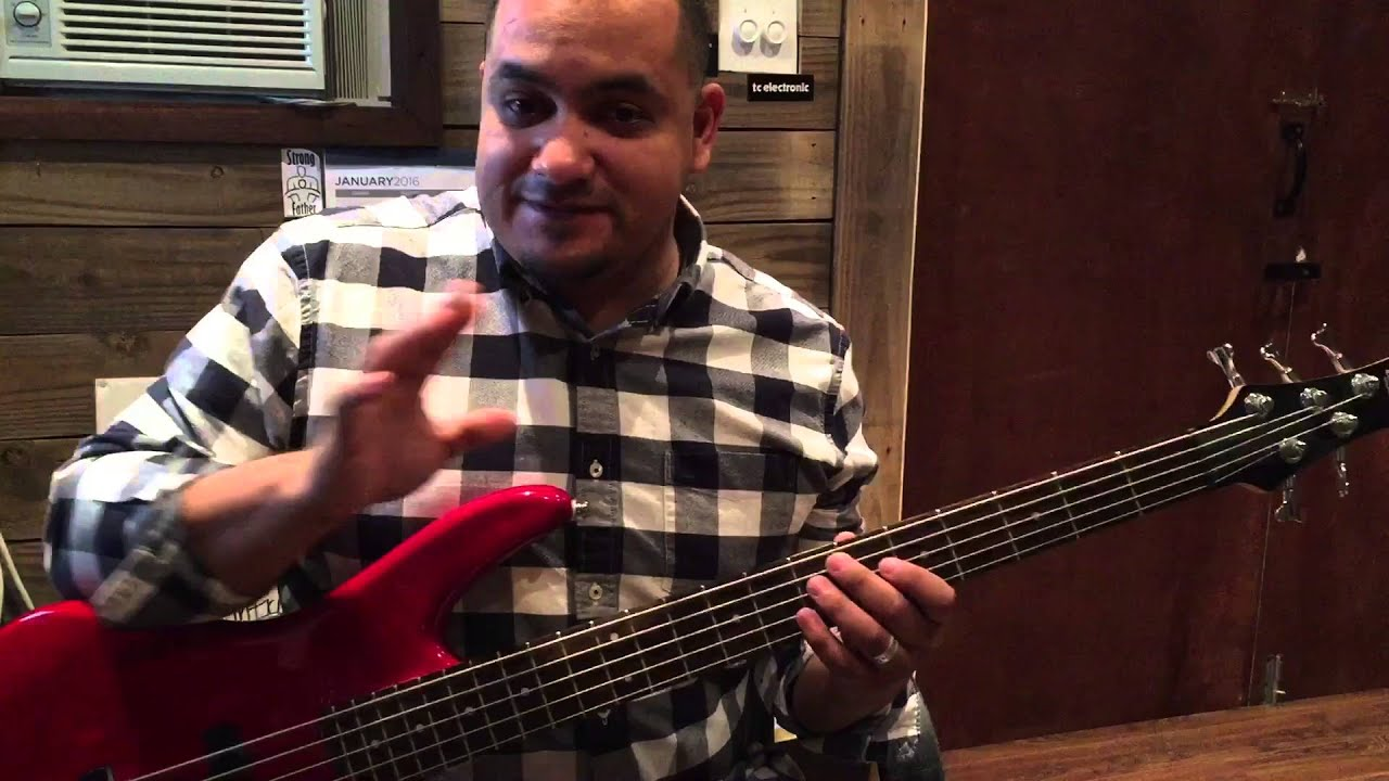 Bass tutorial in the river jesus culture youtube.