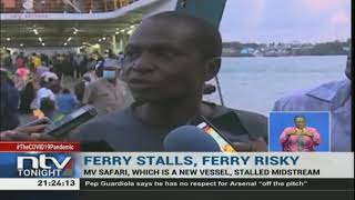 More than 10 people injured in stampede at the Likoni crossing channel.
