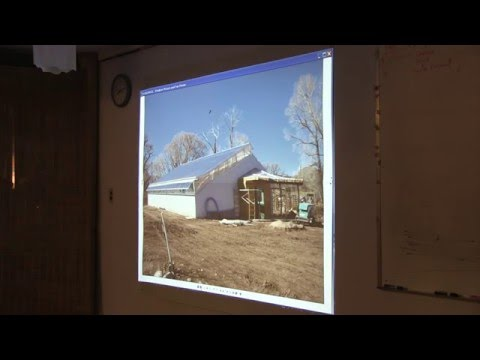 Permaculture Climate Battery Greenhouse - A presentation from an environmental architect