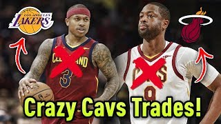 Cavs TRADE HALF THEIR TEAM!! Traded Isaiah Thomas & Dwyane Wade!! Can They BEAT The Warriors?