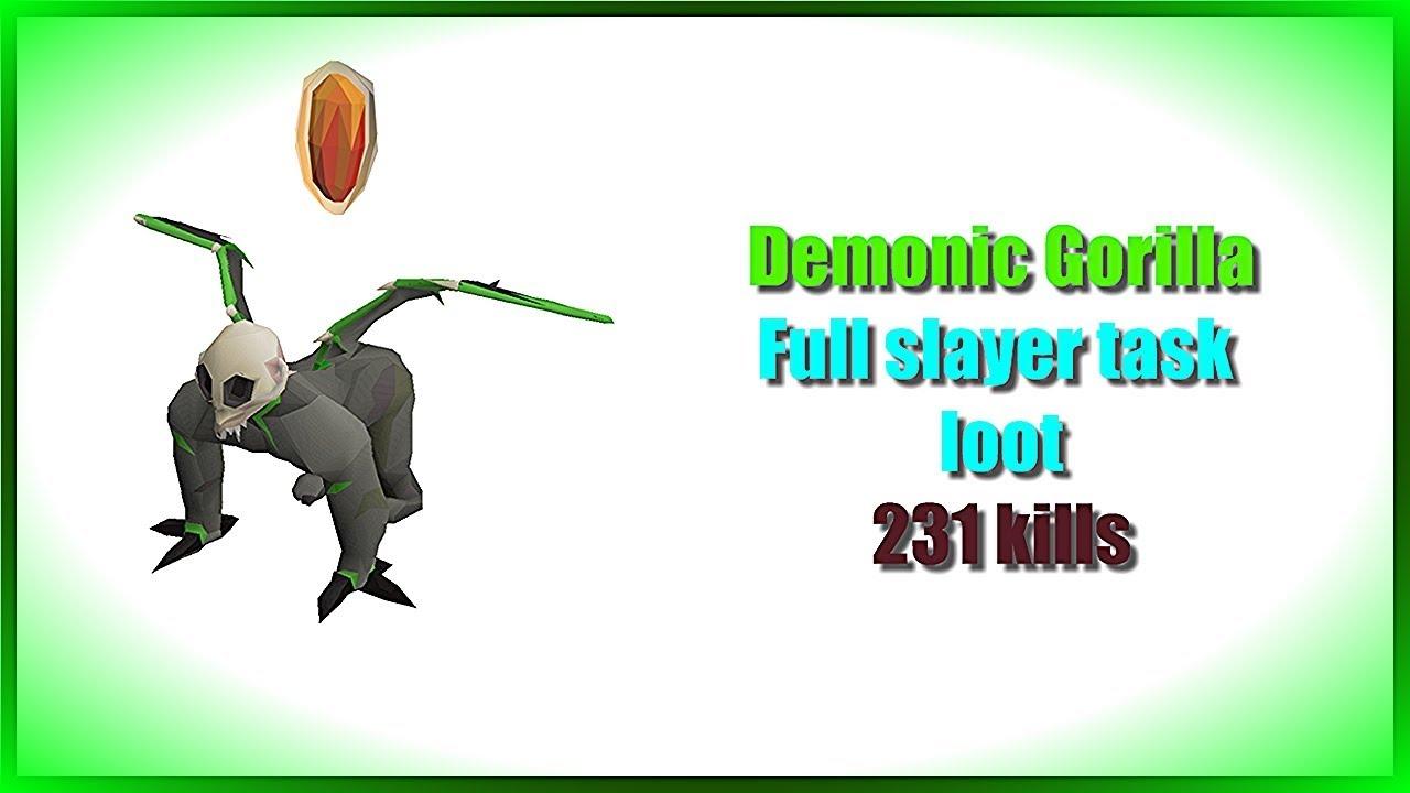 Demonic Gorilla Osrs – Demonic gorillas are a great way to make money while doing hard tasks for slayer.