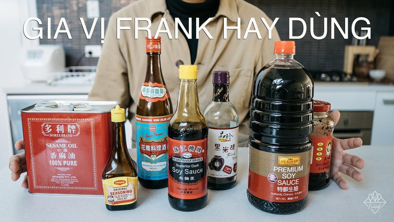 BÍ QUYẾT DÙNG CÁC GIA VỊ FRANK HAY DÙNG | VLOG | Culinary Frank
