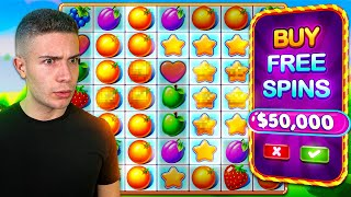 $50,000 Bonus Buy on FRUIT PARTY 🍊 (50K Bonus Buy Series #07)