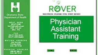 ROVER Physician Assistant Training