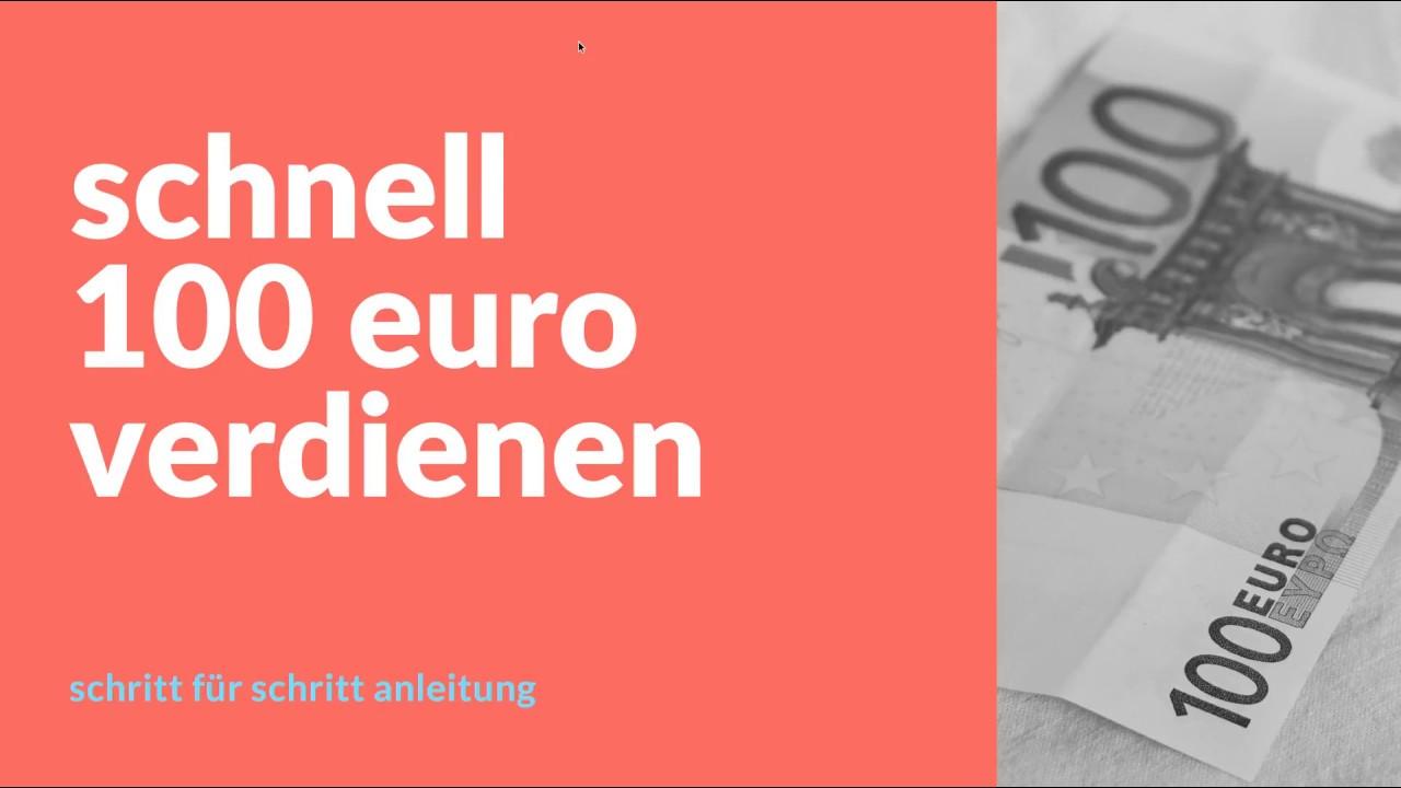 Schnell 200 Euro Verdienen