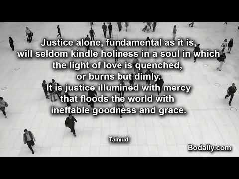 Justice alone, fundamental as it is, will  grace