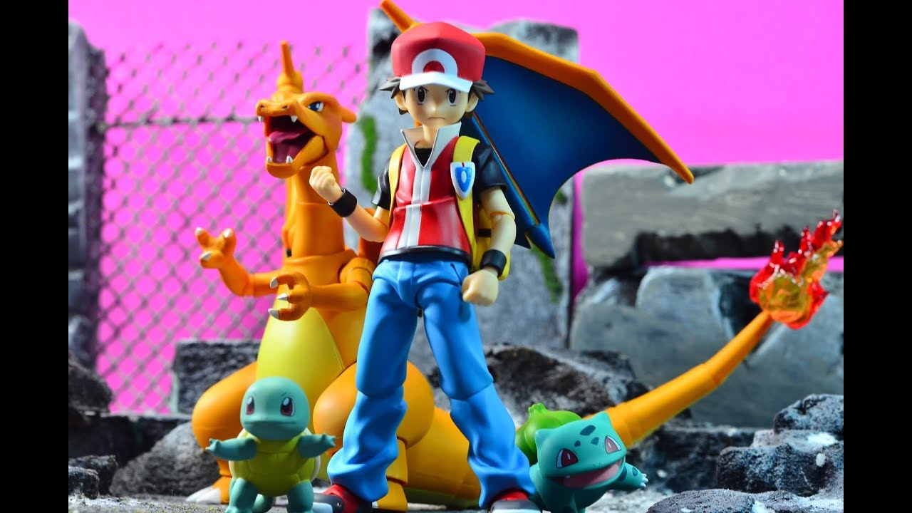 Resultado de imagem para figma red pokemon