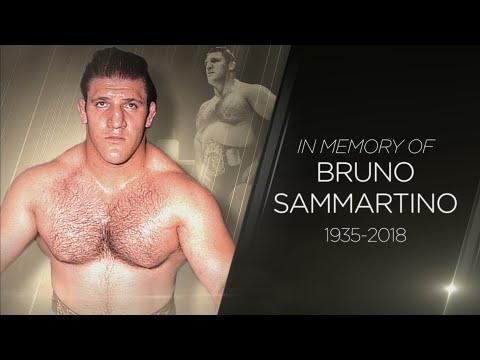 WWE pays tribute to Bruno Sammartino