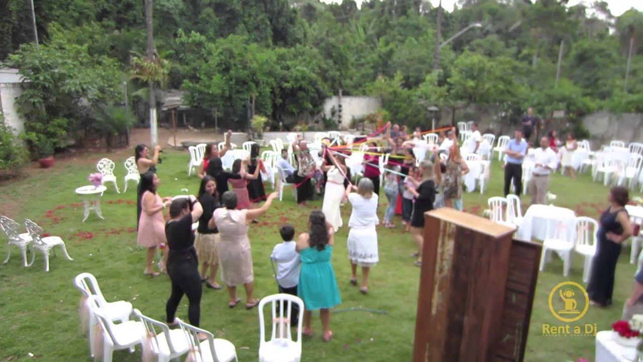 Conhecido Cerimônia e casamento em chácara com Kit 1 - Som da Rent a Dj  QY46