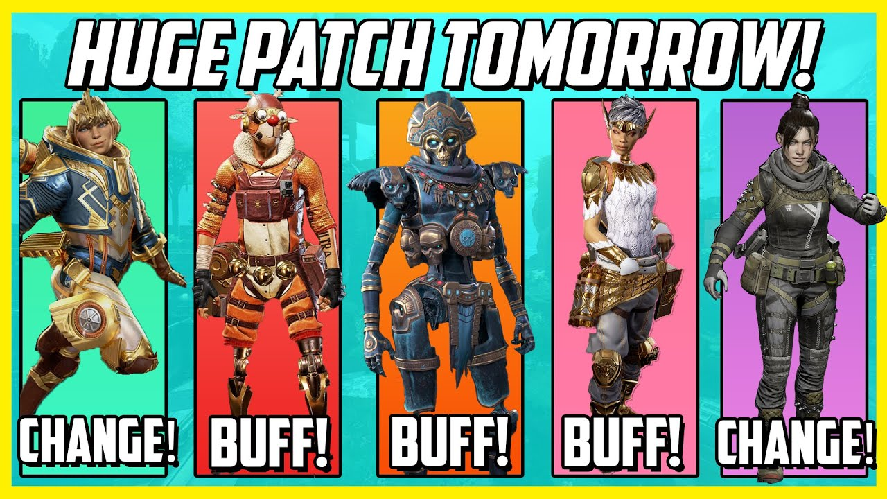 Apex Legends Lost Treasure Patch Notes - The Biggest Update Ever!