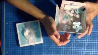 МК Волшебная коробочка с бабочками / Magic box
