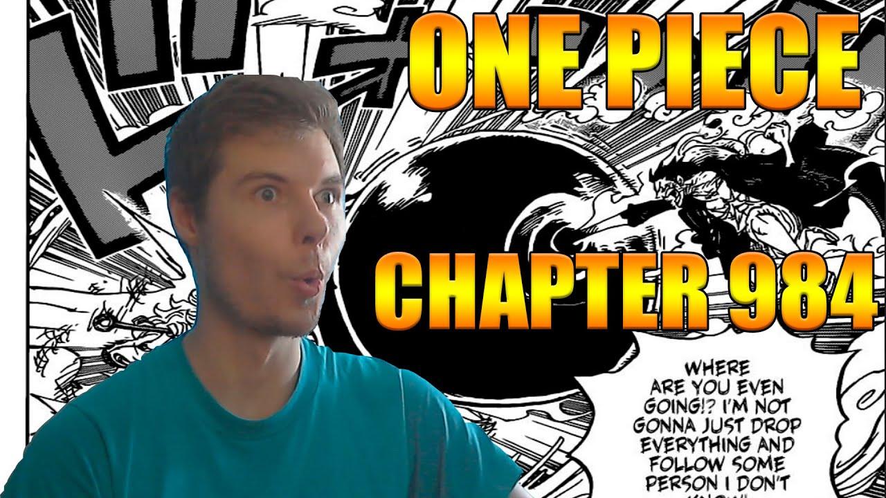 One Piece Chapter 984 MANGA REACTION - YouTube