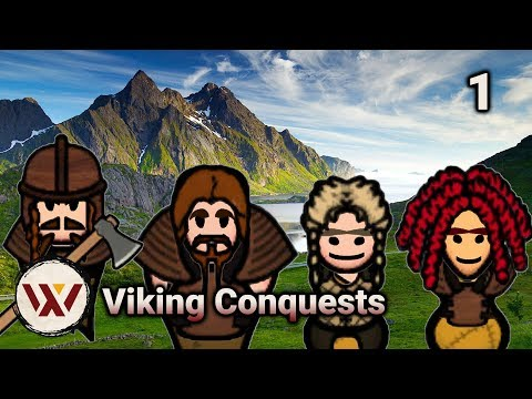 """Rimworld Viking Conquests #1 """"Odin's Blessing"""" No-Pause Extreme Challenge! Alpha 17 Gameplay"""